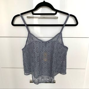 NWT✨ AEO Lace Tank Top Size S
